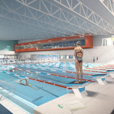 Pan Am Aquatic Centre Field House 2015, Toronto