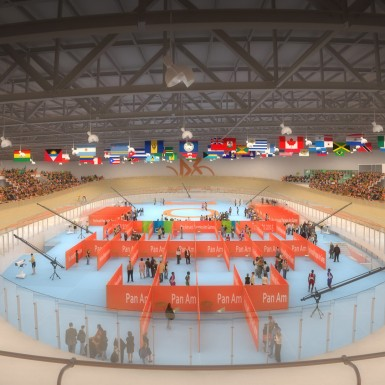 Pan Am Velodrome Venue 2015, Toronto