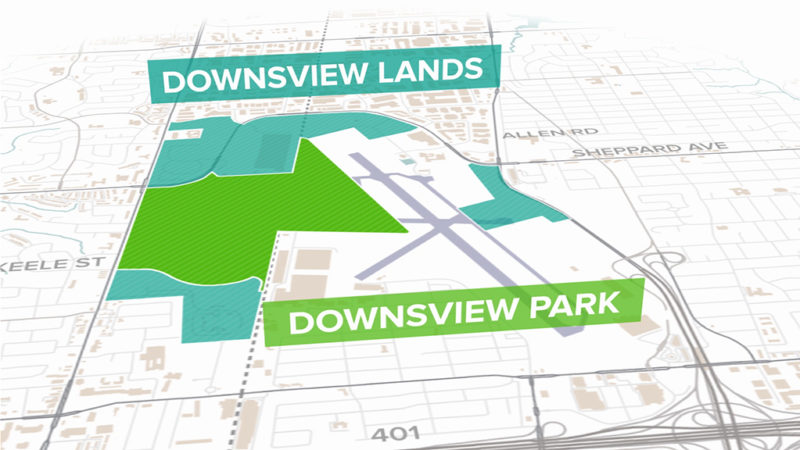 Video and Animated Infographics Reveal Development Plans for Downsview Lands