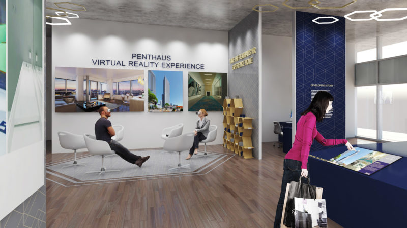 VR Residential Sales Centre