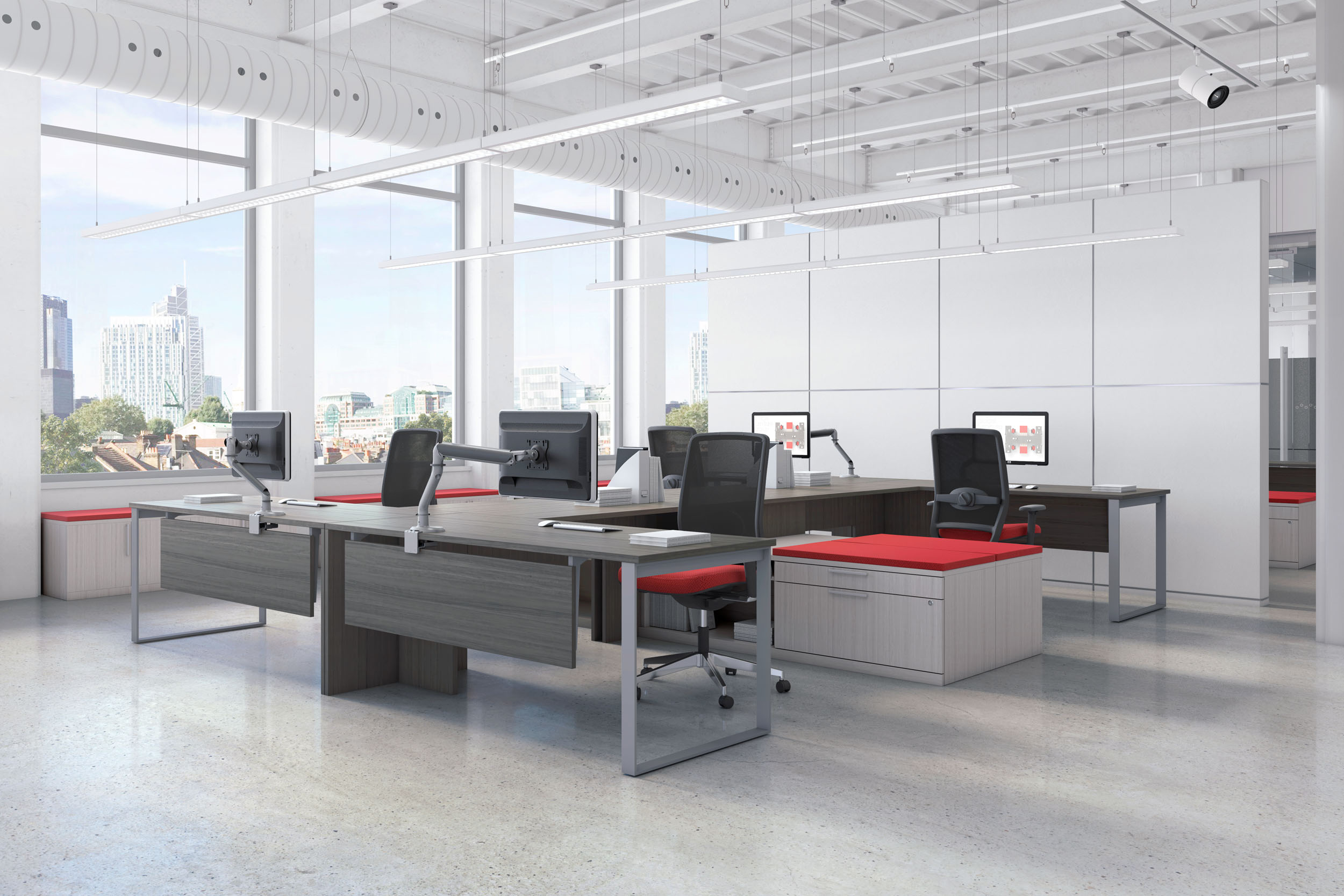 Global Contract Teknion Systems Furniture Cicada Design
